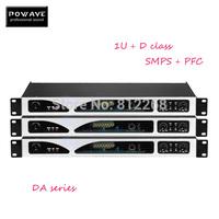 Audio amplifier POWAVE DA-800 2X800W power amplifier professional