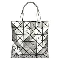2014 miyake bag issey miyake handbag plaid folding female