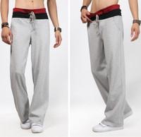 Free shipping 2014 fashion mens sport pants +outdoors pants men brand ,sport trousers men ,5sizes,3colors,drop shipping WP48