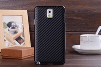 High quality Super 2014 New 7 Muticolor Carbon Fiber Mesh Armor PU Hard Cover Case for Samsung Galaxy Note 3 III  Free shipping