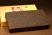 [ 5 Years Old Brick ] Puer Tea Ripe Brick Heicha Top Grade Puerh Tea 1000g/35.2oz material of 2008 Yunnan Big Tea Leaves