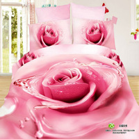 girls unqiue wedding gift bedding set queen size bedclothes 100% Cotton bedcover comforter/duvet/quilt cover bedsheet pillowcase