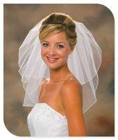 2014 New Arrival Elegant Short Bridal Veil Wedding Accessories