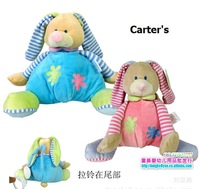 Dolls & Stuffed Toys  Carter 's rabbit holding my music box The bell bed trailer to hang the bell odd Two color optional