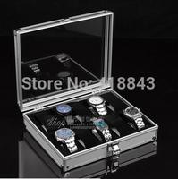 High-grade aluminum case 10 watch watch box watch storage box storage case
