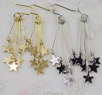 Wholesale Fashion star tessel earring earrings Free Shipping many colors