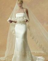 New Arrival Wedding Accessories Birdcage Long Vestido De Noiva Fashion Lace Bride Veils