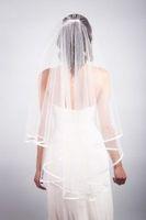 2014 New Arrival Elegant Short  Wedding Accessories birdcage veil vestido de noiva