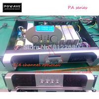 Amplifier 4 channel powave PA-4700 stereo audio amplifier 4*650W audio amplifier 220v