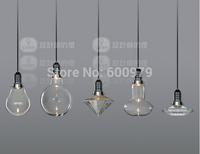 Modern creative glass pendant lights Crystal pendant lamp for bar dining room  designer lighting fixture