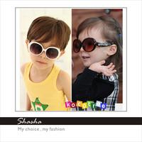 Korean resin kid sunglasses Children glasses Shades GOGGLES UV protection beach anti sun glasses with glasses box for free