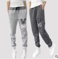 Free shipping spring harem women pants rabbit pocket design fall leisure pants polka dot waist 3 colors