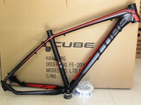 2014 CUBE REACTION / mountain bike aluminum frame seatpost clamp +tail hook black and red 27.5ER/ 17 inch MTB frame
