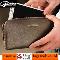 2014 New arrival Fashion Long Designer Luxury Mens Wallet Leather Genuine Cluth Carteira Men Free Shipping