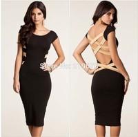 new 2014 women summer bandage dress vestidos femininos women's clothing vestido de festa party dresses atacado roupas femininas