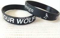 promotion world cup cheap sports wristband,custom logo text words print black silicon bracelet