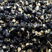 Free Shipping!!100g Black Goji Berries, Black wolfberry contain 18 amino acids, organic herbal tea Health tea