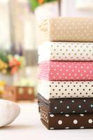 0.5meters ,Width 1.1 meters dot polka cotton cloth fabric shirt dress diy sewing patchwork fabric zakka scrapbooking tecidos