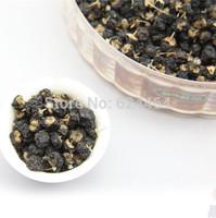 FREE SHIPPING!! 200g, Top Black Goji Berries Pure Bulk Bag Certified ORGANIC,Green food,Chinese Black wolfberry