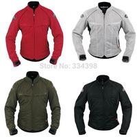 2014 New KUSHITANI Mount Fuji Breathable Summer Mesh Racing Suit Motorcycle clothing Jersey Riding Jacket Protector Multi-Color