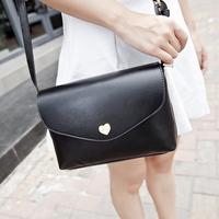 New Stylish Bag 2014 Casual Women Messenger Bag HEART Shoulder Crossbody Bags dark bule Handbag High Quality