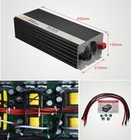 Free shipping Pure Sine Wave Inverter 4000W 12V,24V,48V to 110V,220V UK,Australia,USA,Germany,france socket available