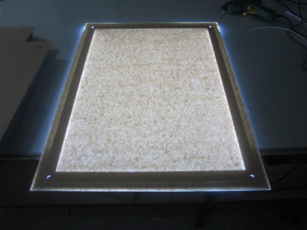 light frame box advertising led acrylic light box panel menu boards
