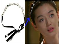 2014 Hot Sale Fashion Free shipping 20pcs/lot korea star pearl headbands