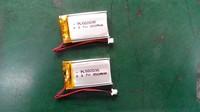 3.7V lithium polymer battery 502035,602035,402035 Handheld GPS Navigator Lithium Battery