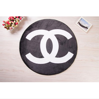 Super Round Diameter 80*80cm Famous Brand Modern 2C Rugs and Carpets for Bedroom Bathroom Living Room Dining Room