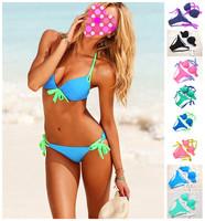 Free shipping new 2014 Vintage Bikini Women Fashion Sexy Swimsuit Ladies' Swimwear Beachwear Leopard Grain swimwear women A003