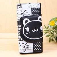 3PCS/LOT Wholesale Panda wallet bag 2014 new stlye cartoon purse for girl hot lovely handbag Dropshipping