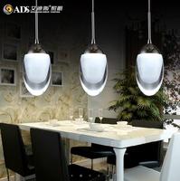 New modern simple pendant light LED light with three light