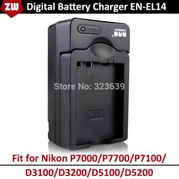 Электронные 2014 новый EN-EL14 цифровой камеры зарядное устройство для Nikon P7000 ...