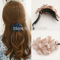 Chrysanthemum Chiffon hairpin Fashion hair ornaments  hair accessories Wholesale