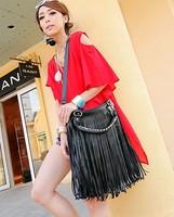 Bolsas feminina New Vintage Women's Handbag Tassel Fringe bag Shoulder Tote Bag cross-body Women Messenger bag bolsa franja