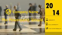 [PPT Design]Yellow&Black Buisness PPT Sample