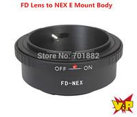 WALTER Lens Adapter Ring FD-NEX For Canon FD Lens to NEX E Mount body NEX3 NEX5 NEX-5N NEX7 NEX-C3 NEX-F3 NEX-5R NEX6