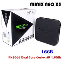 MINIX NEO X5 Android TV Box Mini PC Dual Core 1.6GHz 1G/16G WiFi USB HDMI XBMC Media Player Smart Set Top Box Receiver +Remote