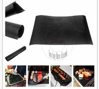 DHL Free shipping 200 pcs/lot Family cooking tools Teflon Heat Resistance bbq Grill Mat Easy clean  barbecue bakeware pad