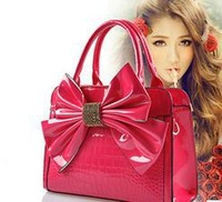 2014 Hot Sale European American Fashion Women Lady's Classic handbag Bowknot Totes shoulder bag HB0518-9