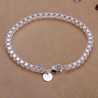 H172 Free Shipping Wholesale 925 silver bracelet, 925 silver fashion jewelry Box Bracelet / bpzakhgasy