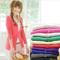 new  Sweaters 2014 women fashion  knitted  cardigan outerwear shawl long sleeve jacket knitwear coats