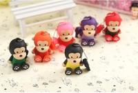 AC88 Pink/Red/Yellow/Black/ /Purple/Orange 1GB-32GB Lovely Cartoon Monkey model 2.0 Memory Stick usb flash drive disk toy Gift