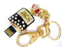 AJ11 New Key Chain Flagon Bottle/Can model 1GB 4GB 8GB 16GB 32GB 2.0 usb flash drive memory pendrive Fashion Crystal Jewelry