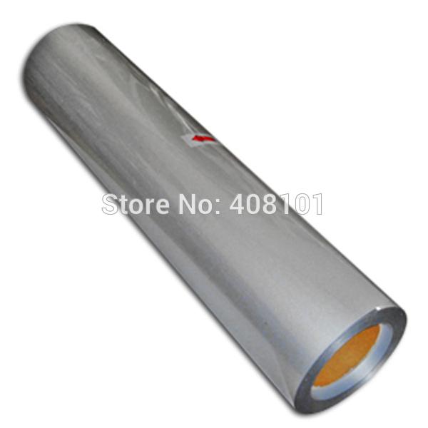 0.5x10m Silver Color Heat MatteTransfer Vinyl Heat PU Vinyl Heat Transfer film T-shirt Printing Transfer 27 Colors Selectable(China (Mainland))