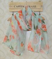2014 fashion women summer spring scarf,rose print,Flower print,muslim hijab,Floral hijab,shawls and scarves,fashion scarf,Cape