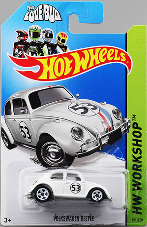 Free shipping Hot wheels 2014 Old Beetle Collection Car Alloy Mordel Toy No.191(China (Mainland))