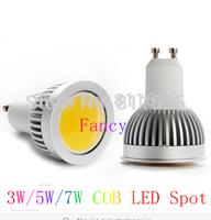1pcs 3W 5W 7W  GU10 E27 COB Led Spot Light Spotlight Bulb Lamp