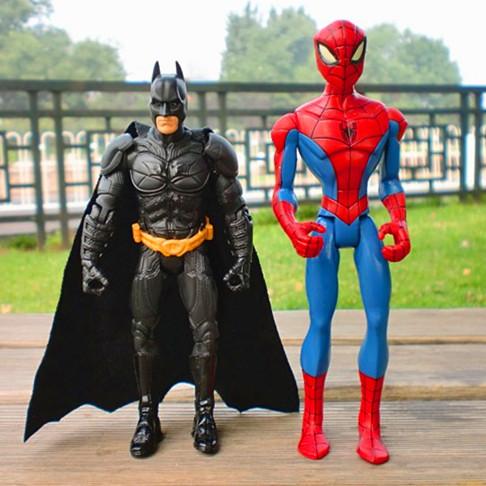 1 pcs/lot The Dark Knight Movie Batman/Spiderman Superhero action figure Toy Collection superhero figures robot classic toys(China (Mainland))